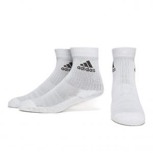 Adidas 3-Stripes Performance Crew 3 Pack Socks Sukat Valkoinen