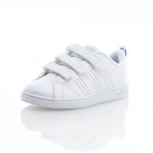 Adidas Advantage Clean 3 Strap Matalavartiset Tennarit Valkoinen / Sininen