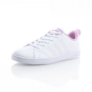 Adidas Advantage Clean Laces Matalavartiset Tennarit Valkoinen / Roosa