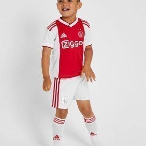 Adidas Ajax 2018/19 Home Peliasu Valkoinen