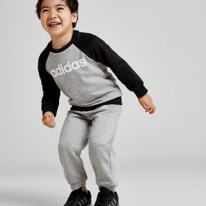 Adidas Badge Of Sport Crew Suit Infant Harmaa