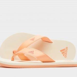 Adidas Beach Thong Flip Flops Coral / White