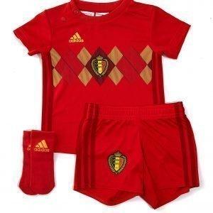 Adidas Belgium 2018 Home Kit Infant Punainen
