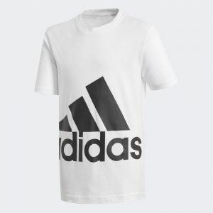 Adidas Big Logo T-Paita Lasten Valkoinen