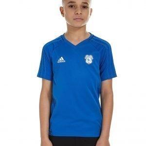 Adidas Cardiff City 2017 Training Shirt Sininen