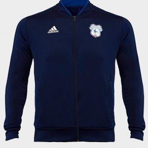 Adidas Cardiff City Fc 2018/19 Condivo Jacket Sininen