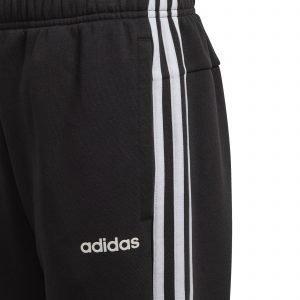 Adidas Essentials 3s Housut Nuorten Musta