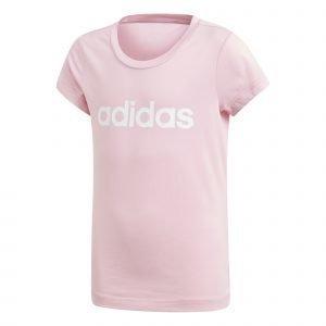 Adidas Essentials Linear T-Paita Nuorten Pinkki