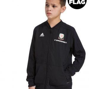 Adidas Fa Wales 2018/19 Presentation Jacket Punainen