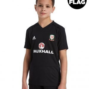 Adidas Fa Wales 2018/19 Training Shirt Musta