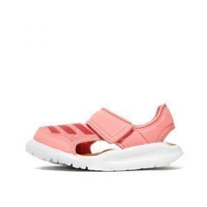 Adidas Fortaswim Sandals Infant Vaaleanpunainen