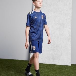 Adidas Fulham Fc 2018/19 Away Shorts Sininen