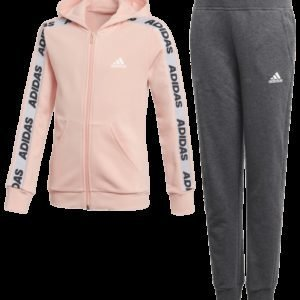 Adidas Hood Cot Ts Set Setti