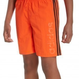Adidas Linear Uimashortsit Oranssi