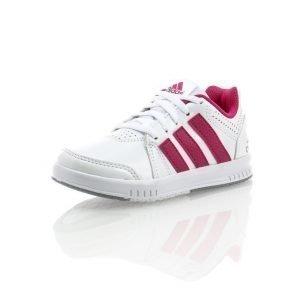 Adidas Lk Trainer 7 Junior Matalavartiset Tennarit Valkoinen / Roosa