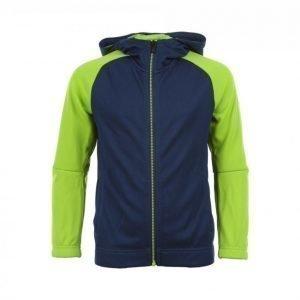 Adidas Lrq Fullzip Hood Junior Vetoketjuhuppari Sininen / Vihreä