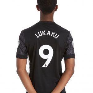 Adidas Manchester United 2017 Lukaku #9 Away Shirt Musta