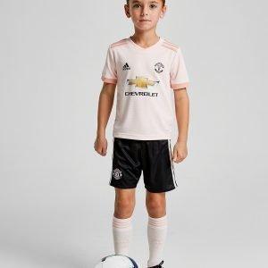 Adidas Manchester United Fc 2018/19 Away Peliasu Vaaleanpunainen