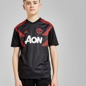 Adidas Manchester United Fc Pre-Match Shirt Musta