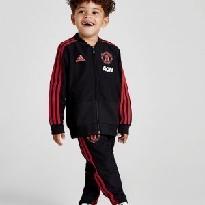 Adidas Manchester United Fc Tracksuit Musta