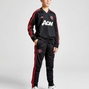 Adidas Manchester United Fc Training Pants Musta