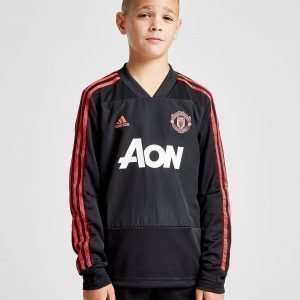 Adidas Manchester United Fc Training Top Musta