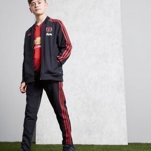 Adidas Manchester United Fc Woven Pants Musta