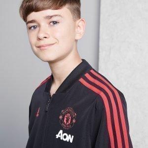 Adidas Manchester United Pre Match Jacket Musta