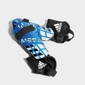 Adidas Messi 10 Shin Guards Sininen