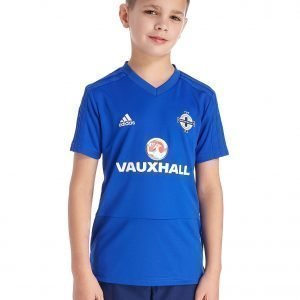 Adidas Northern Ireland 2018 Training Shirt Sininen