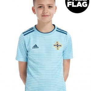 Adidas Northern Ireland 2018/19 Away Shirt Sininen