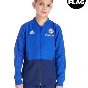 Adidas Northern Ireland 2018/19 Presentation Jacket Jnr Sininen