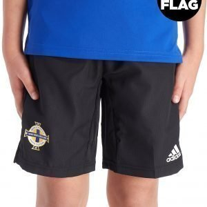Adidas Northern Ireland 2018/19 Woven Shorts Musta
