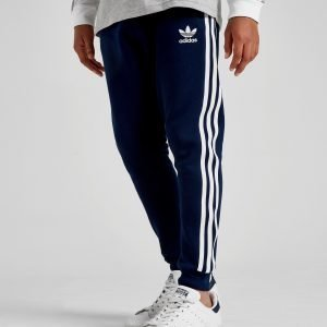 Adidas Originals 3-Stripes Fleece Track Pants Laivastonsininen