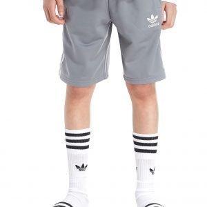 Adidas Originals 3-Stripes Poly Shorts Harmaa