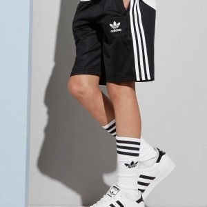 Adidas Originals 3-Stripes Poly Shorts Musta