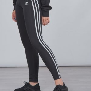 Adidas Originals 3stripes Legg Leggingsit Musta