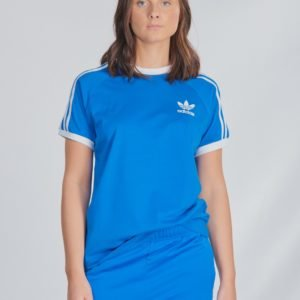 Adidas Originals 3stripes Tee T-Paita Sininen