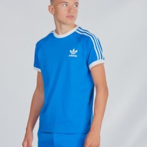 Adidas Originals 3stripes Tee T-Paita Sininen