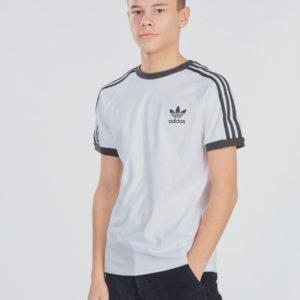 Adidas Originals 3stripes Tee T-Paita Valkoinen