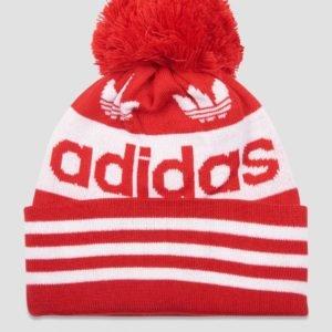 Adidas Originals Ac Jacquard Pom Hattu Punainen