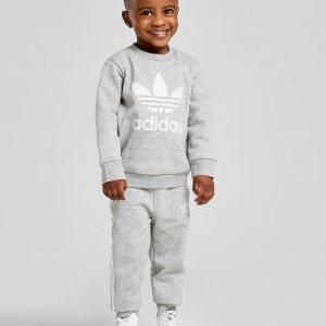 Adidas Originals Adicolour Crew Verryttelyasu Harmaa