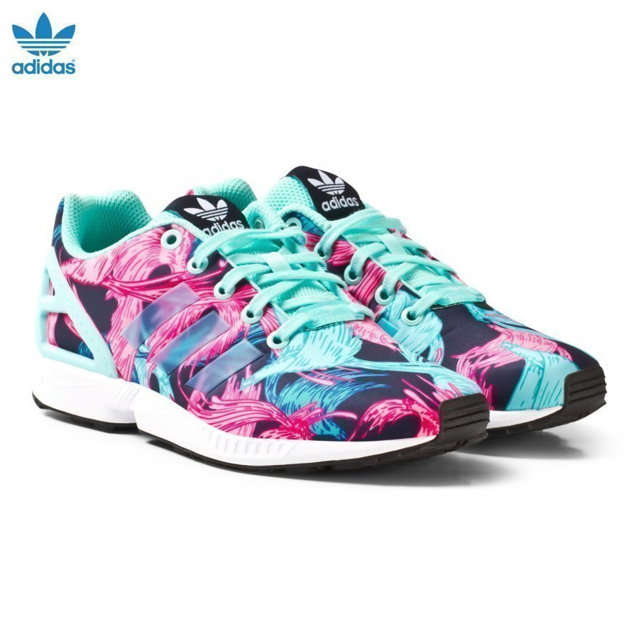 Adidas Originals Aqua Zx Flux Junior Trainers Lenkkarit