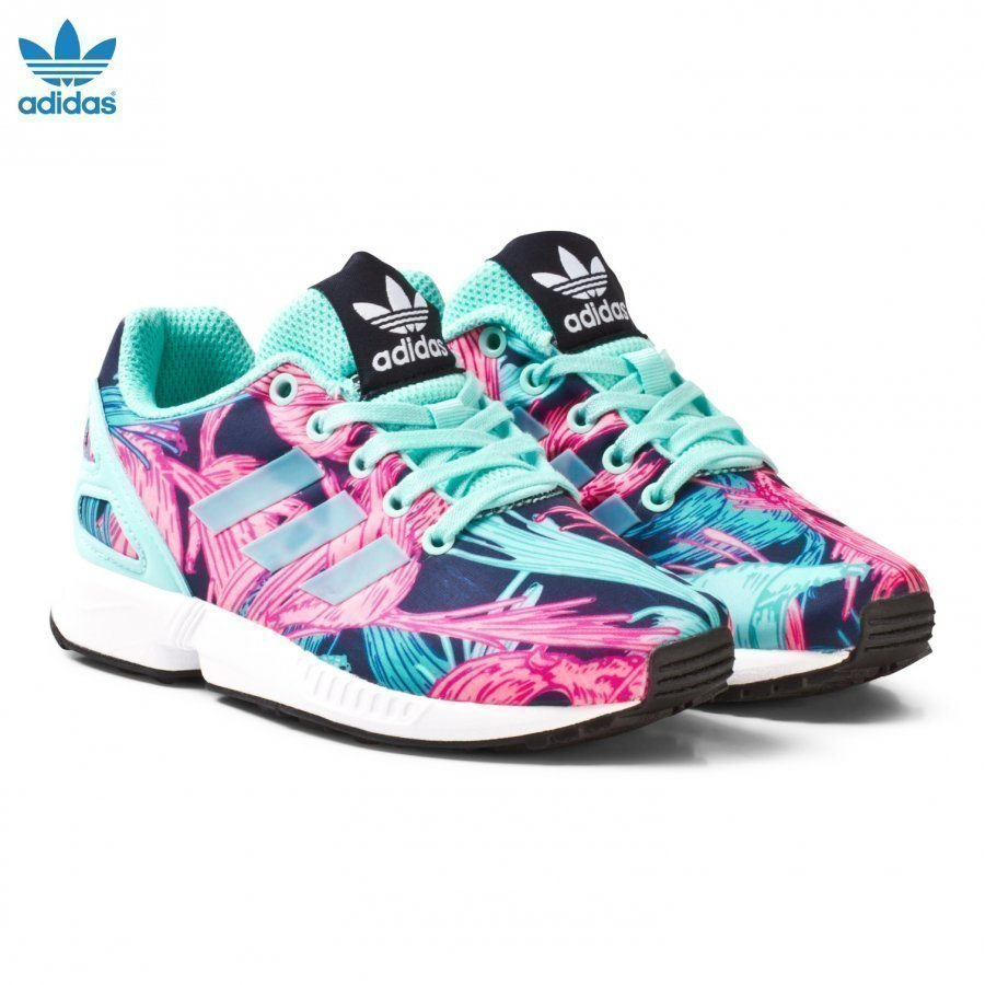 Adidas Originals Aqua Zx Flux Kids Trainers Lenkkarit