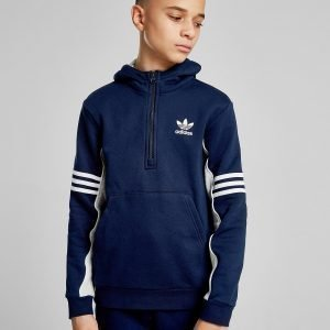 Adidas Originals Authentic 1/2 Zip Huppari Laivastonsininen