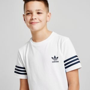 Adidas Originals Authentic Logo T-Paita Valkoinen