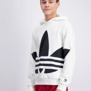 Adidas Originals Bg Trefoil Hood Huppari Valkoinen