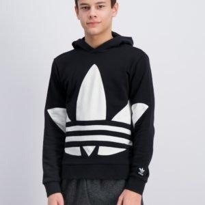 Adidas Originals Bg Trefoil Hood Neule Musta