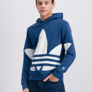 Adidas Originals Bg Trefoil Hood Neule Sininen