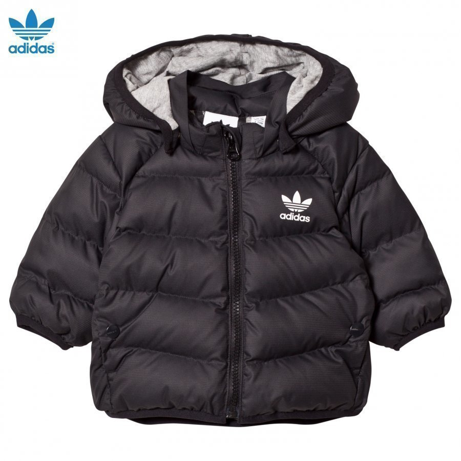 Adidas Originals Black Infant Midseason Jacket Tuulitakki